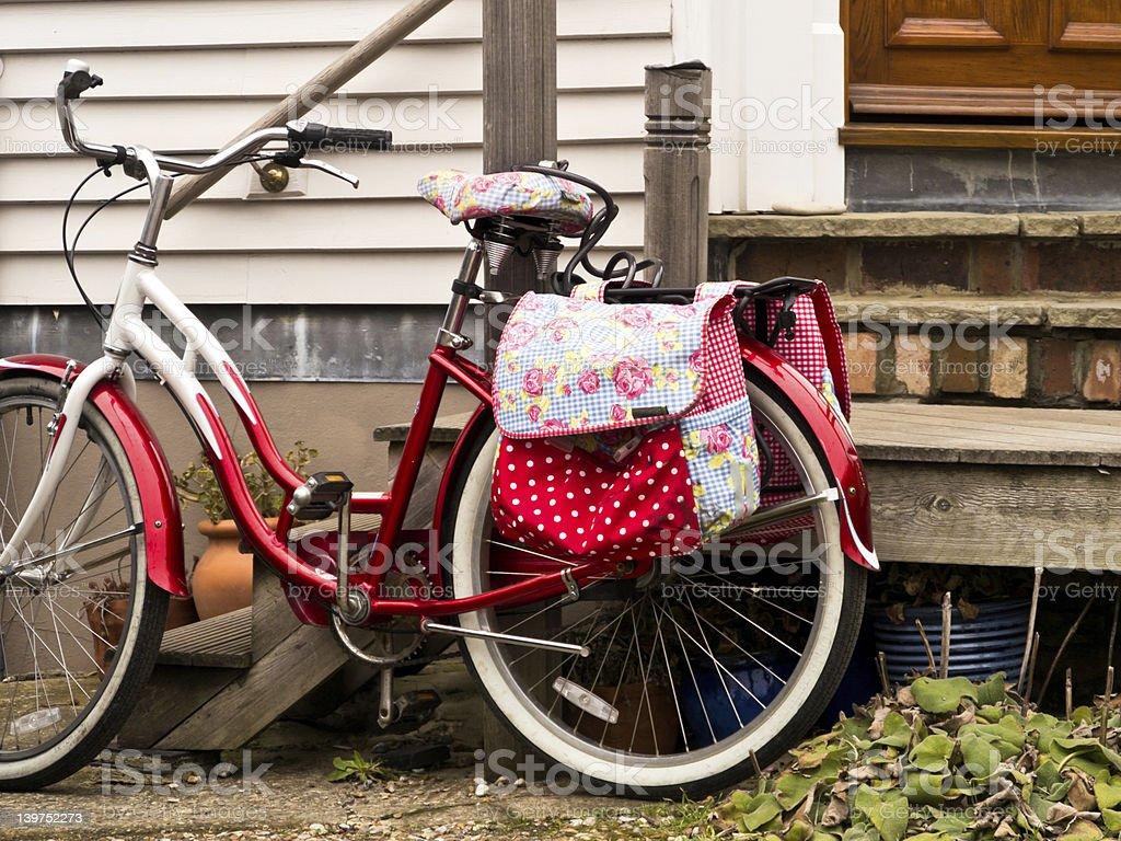 Pretty bicicleta - foto de stock