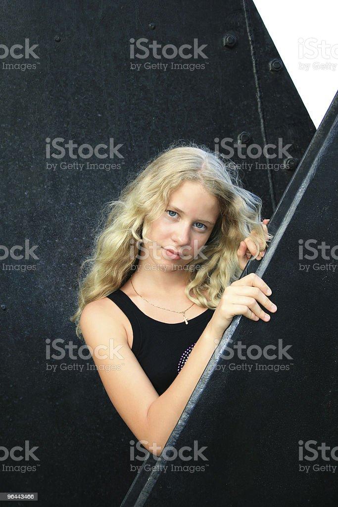Pretty blond girl - Royalty-free Beautiful People Stock Photo