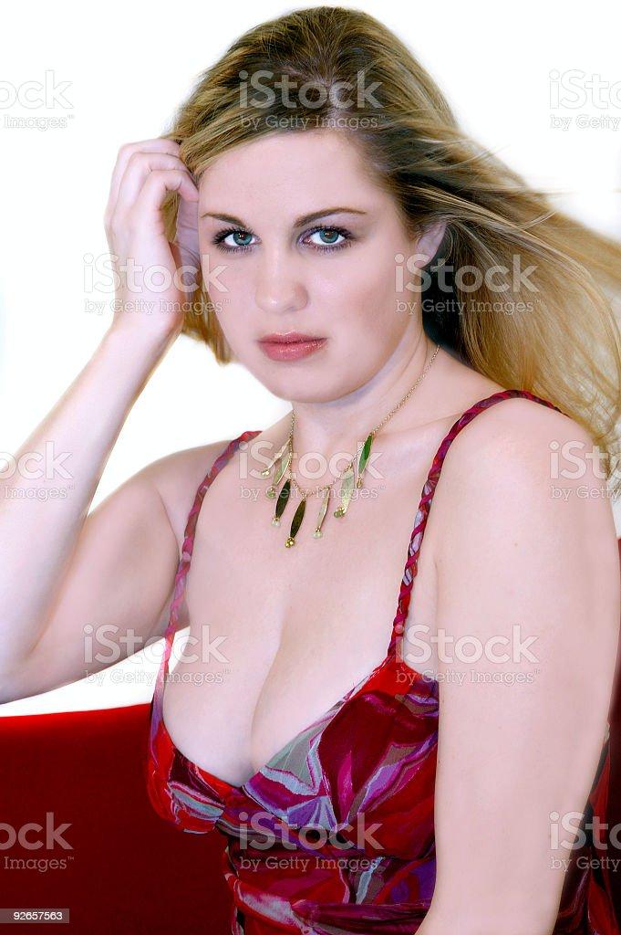Pretty Blond royalty-free stock photo