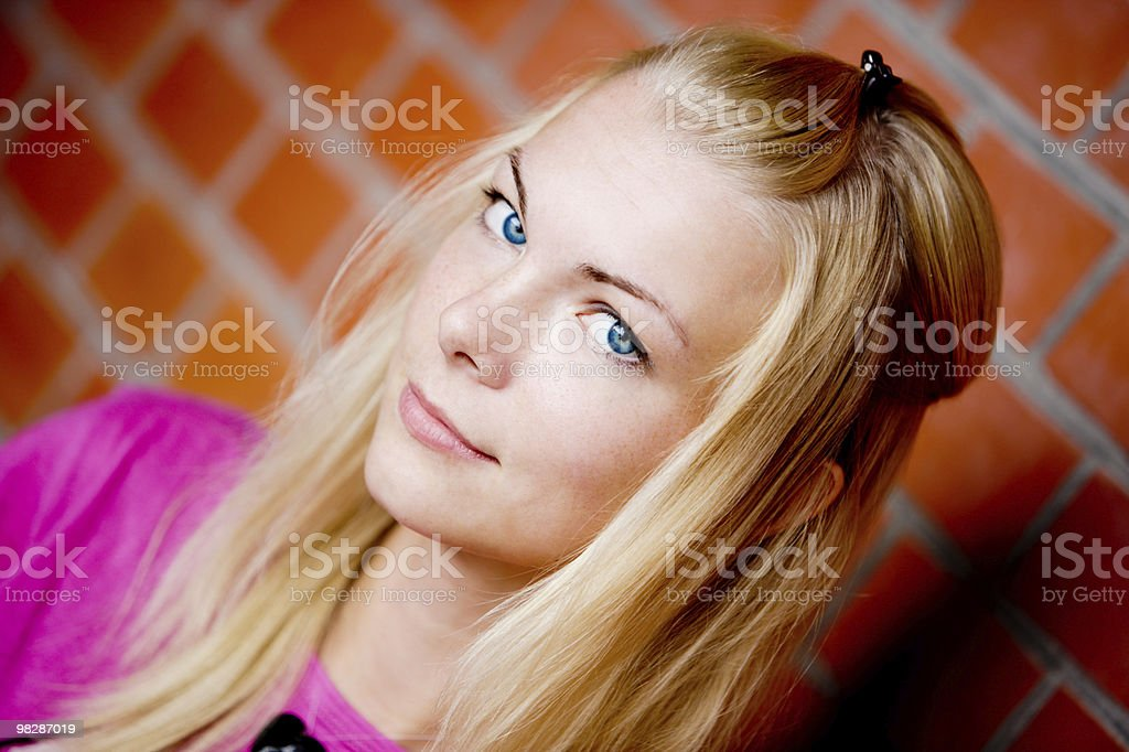 Pretty Blond Woman royalty-free stock photo