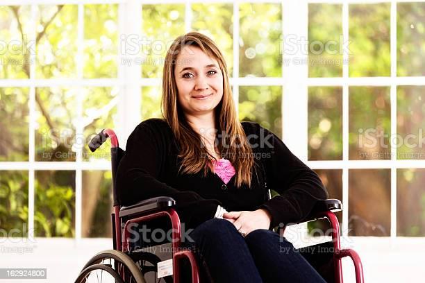 Pretty blonde woman sitting in wheelchair smiling bravely picture id162924800?b=1&k=6&m=162924800&s=612x612&h=blm3pwdjsahkq9gvousr6 jlffeymb5 axikn clam8=