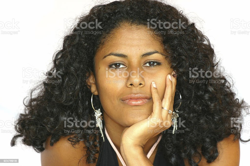 Pretty brazilian girl royalty-free stock photo