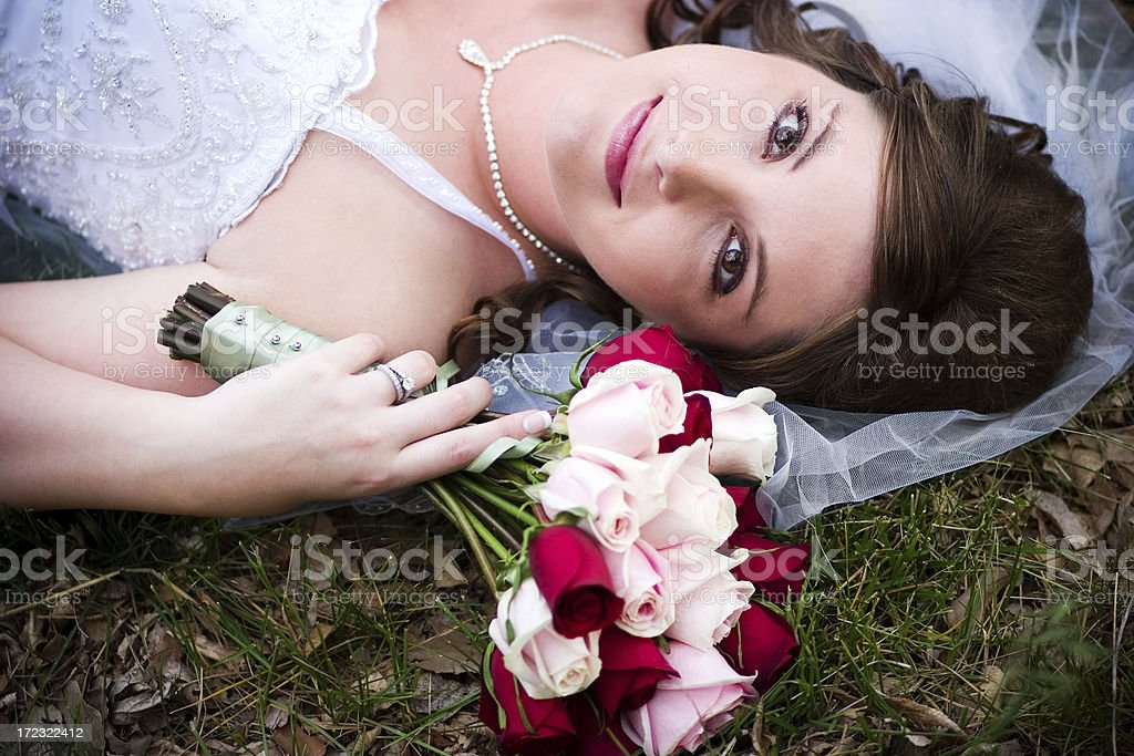 Pretty Bride royalty-free stock photo