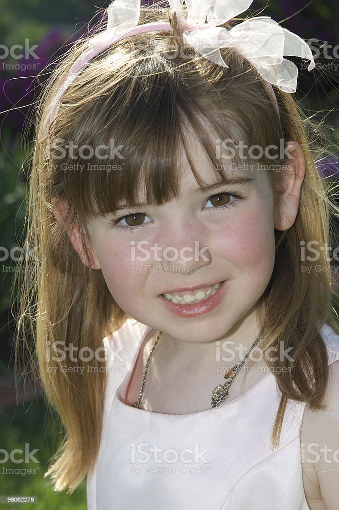 Pretty Brown Eyes royalty-free stock photo