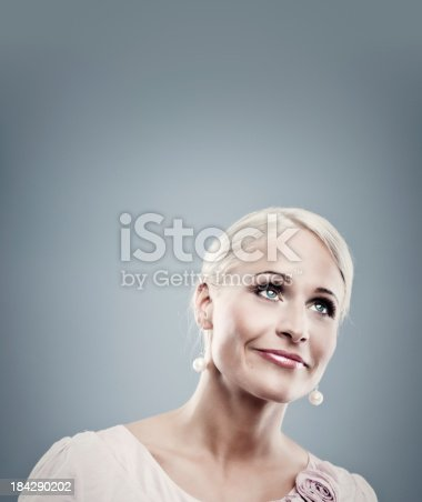 istock Pretty business woman 184290202