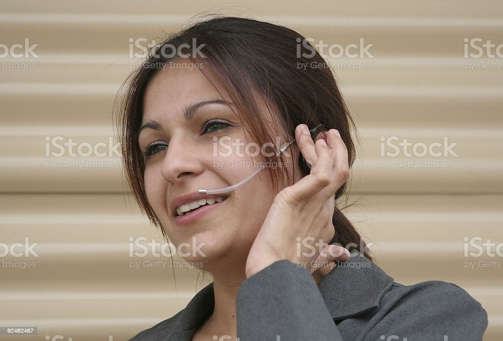 Pretty Business Woman royalty-free stock photo