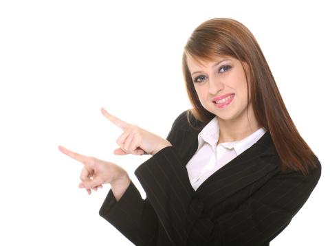 1166716628 istock photo Pretty businesswoman 467242475