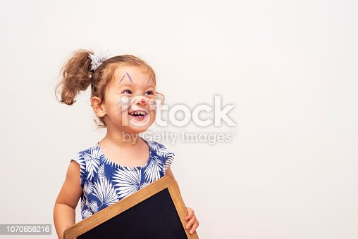 istock Pretty Cat Girl 1070656216
