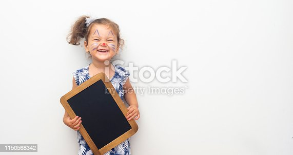 istock Pretty Cat Girl 1150568342