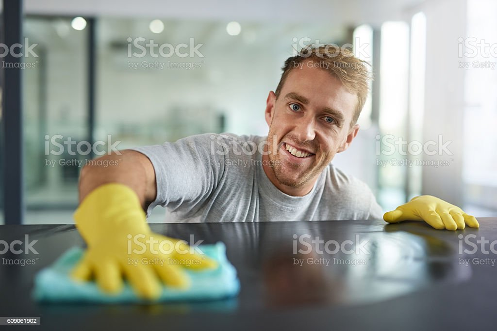 Pretty clean right? stock photo