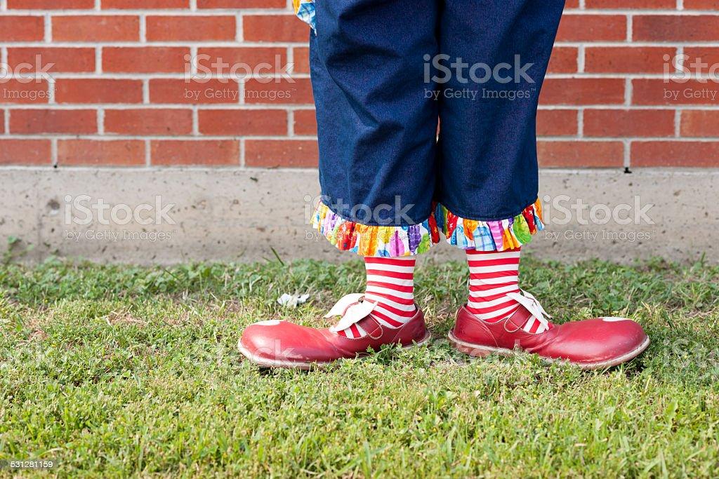 Pretty Clown stock photo