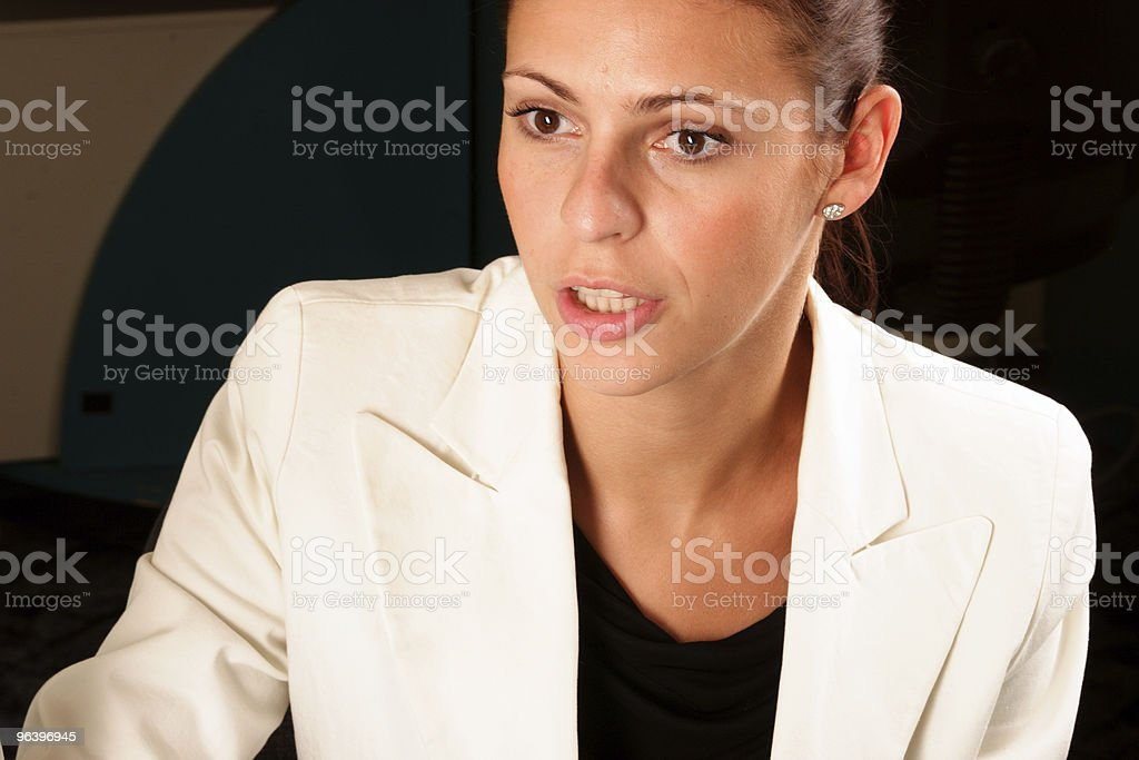 Pretty confident business woman - Royalty-free Adult Stock Photo