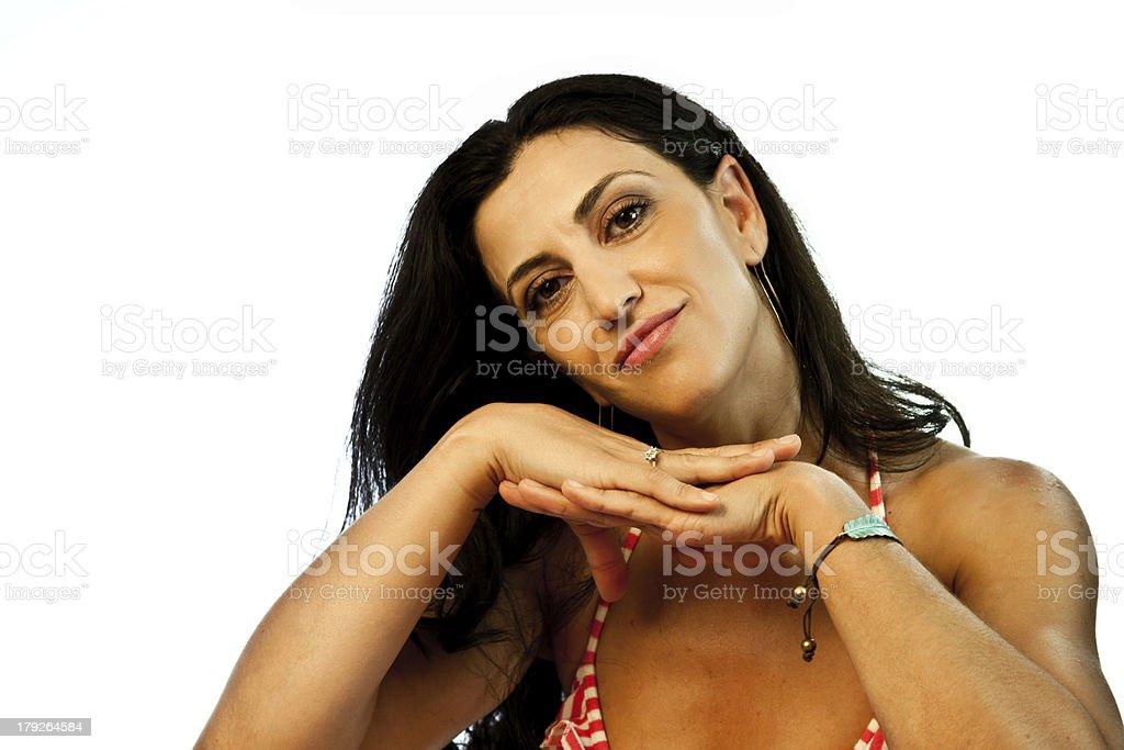 Pretty Female Model royalty-free stock photo