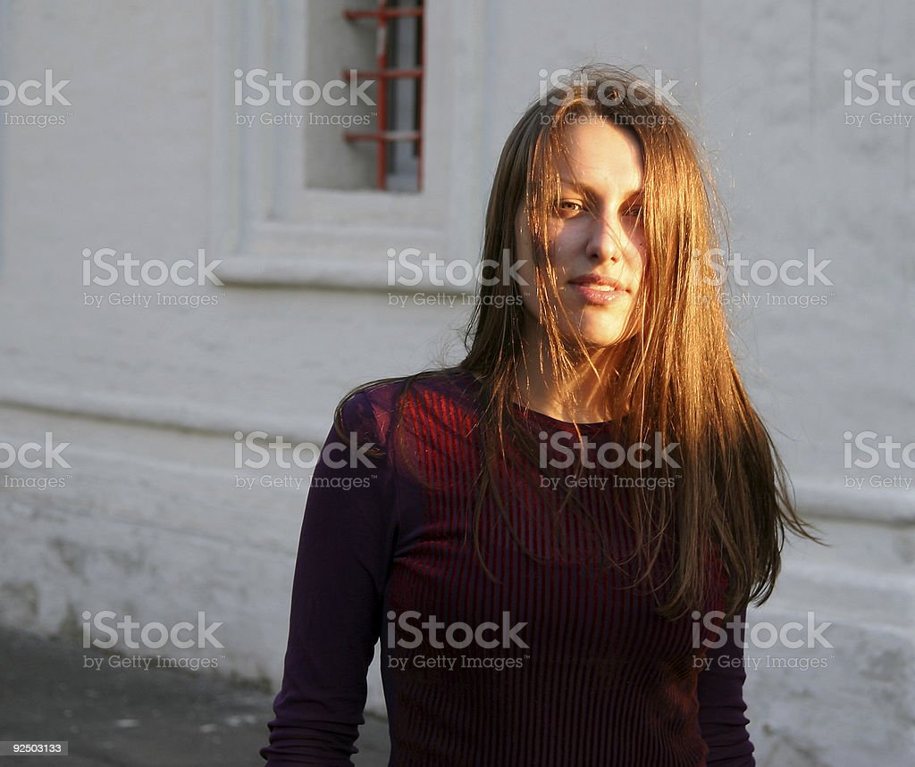 Pretty girl 1 royalty-free stock photo