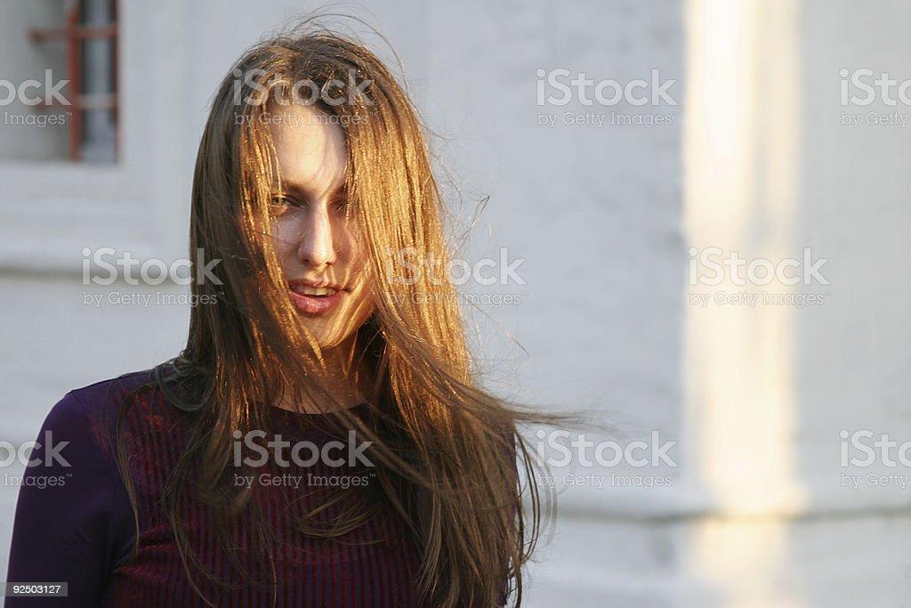 Pretty girl 4 royalty-free stock photo