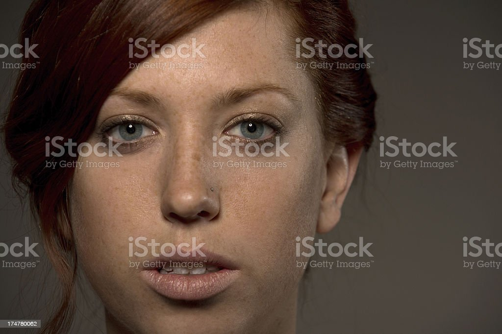 Pretty Girl close up royalty-free stock photo
