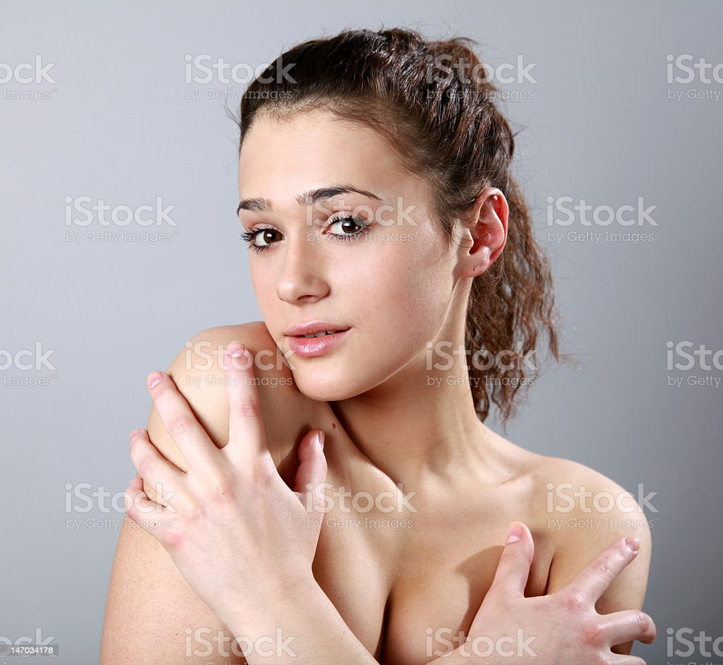 Pretty girl royaltyfri bildbanksbilder