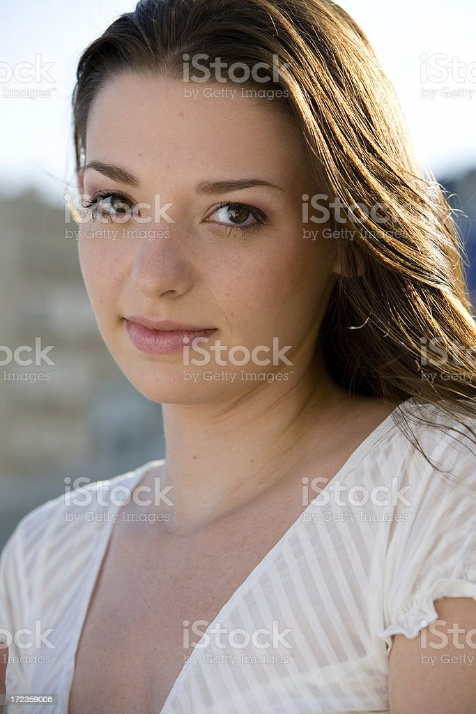 Pretty girl royalty-free stock photo