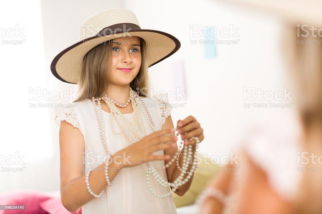 Linda garota  foto royalty-free