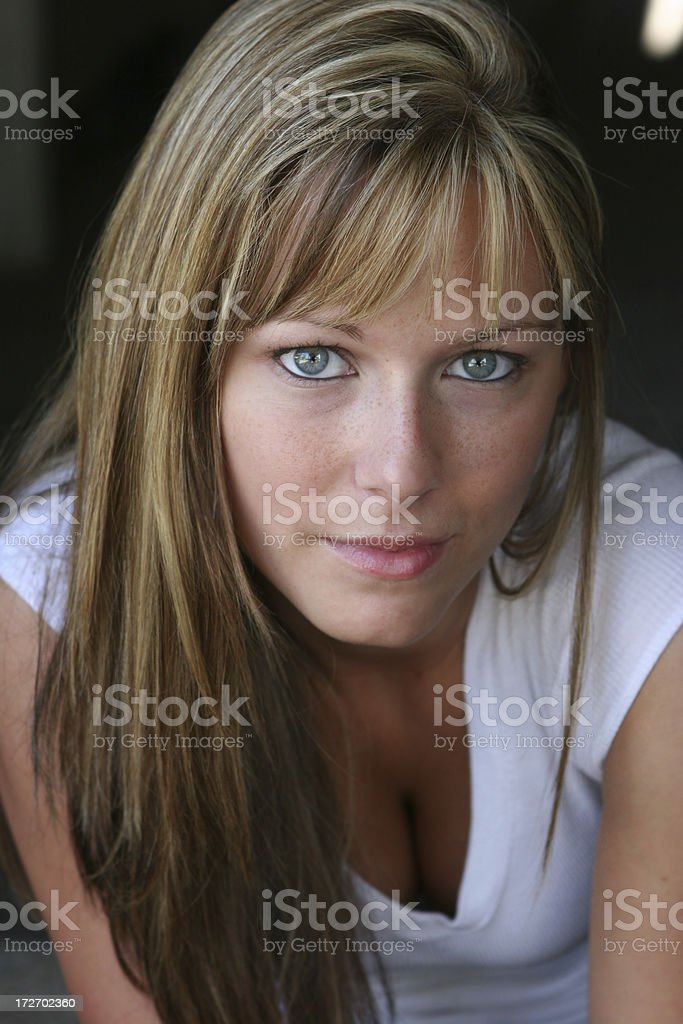 Pretty Girl Portrait royalty-free stock photo