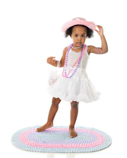 pretty in petticoats - kinderhandtaschen stock-fotos und bilder
