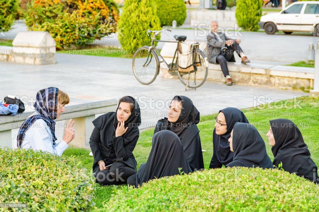 Pretty iranian women