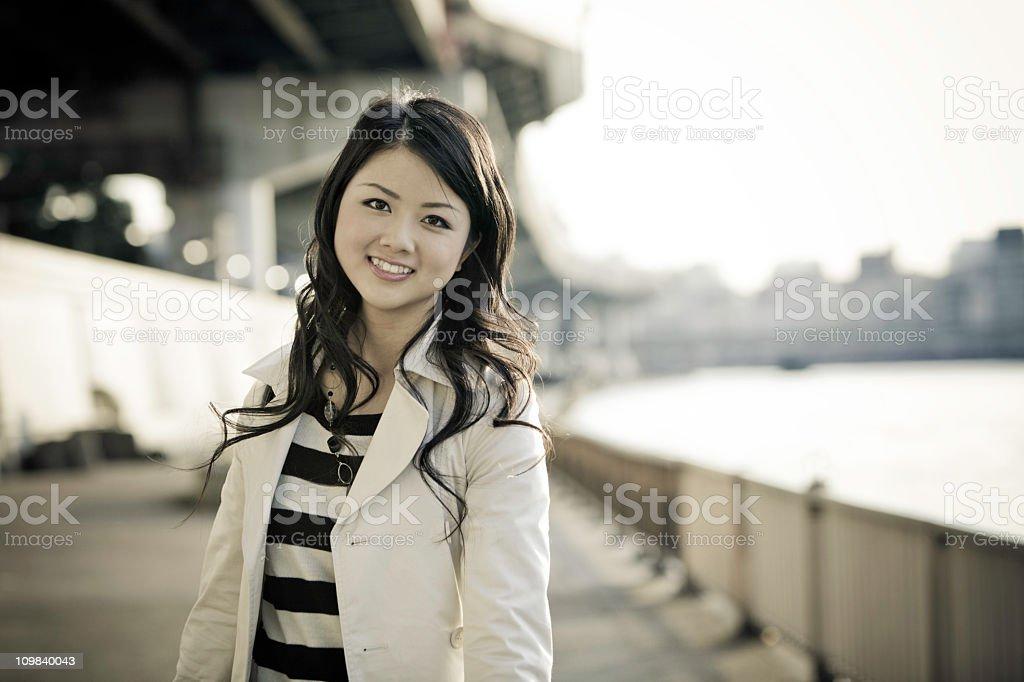 Pretty Japanese Woman stock photo
