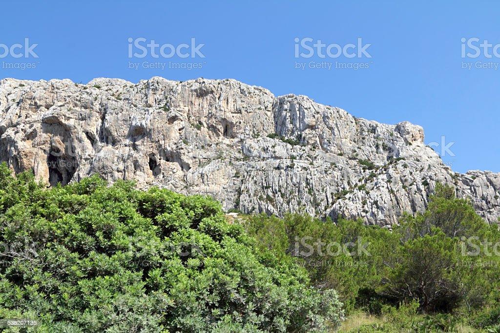 Pretty landscape stock photo