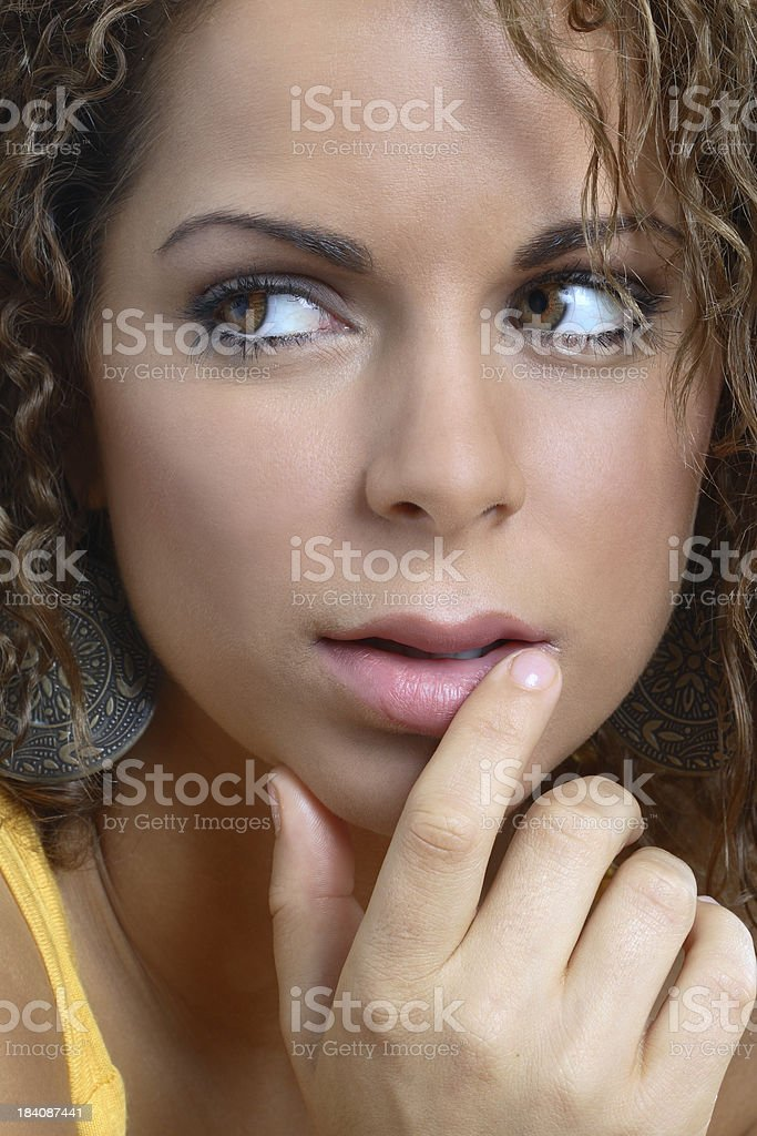 Pretty Latin Girl royalty-free stock photo