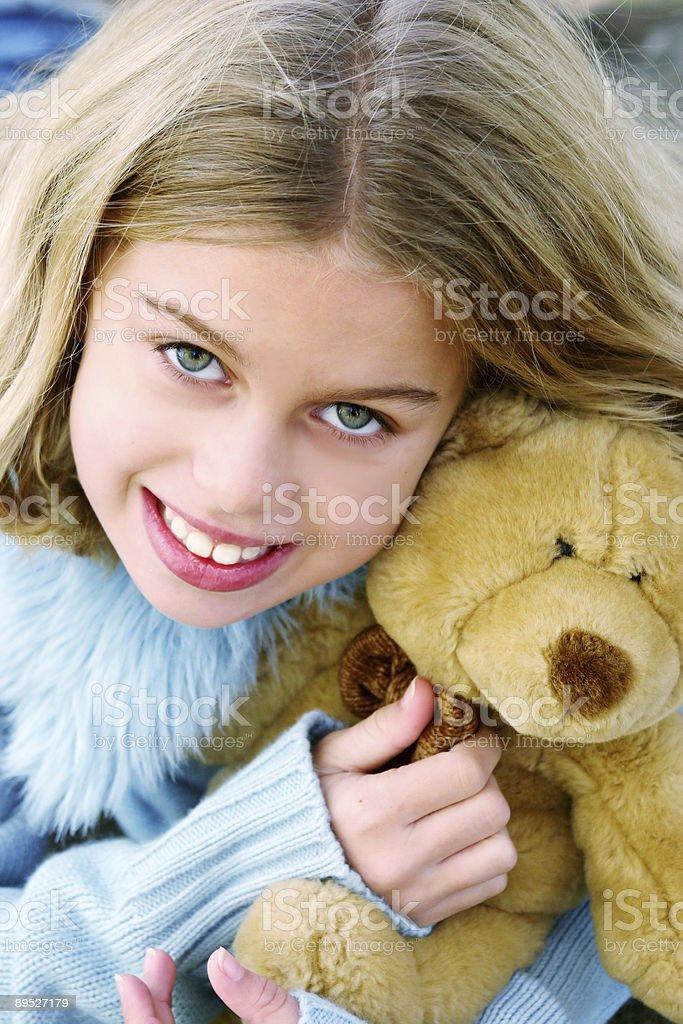 pretty littel girl royalty-free stock photo