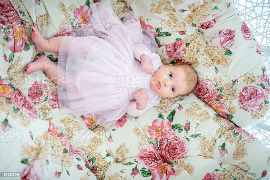 pretty little baby royalty-free stock photo