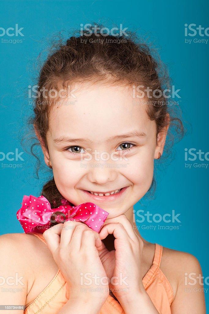 Jolie fillette photo libre de droits