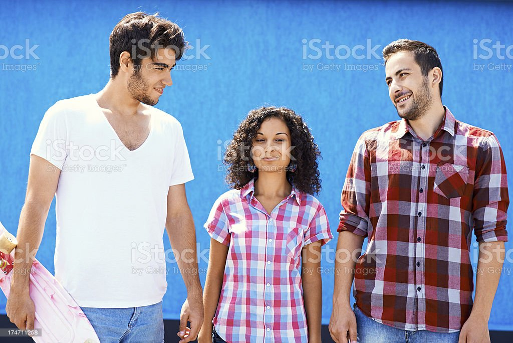 Pretty people royalty-free stock photo