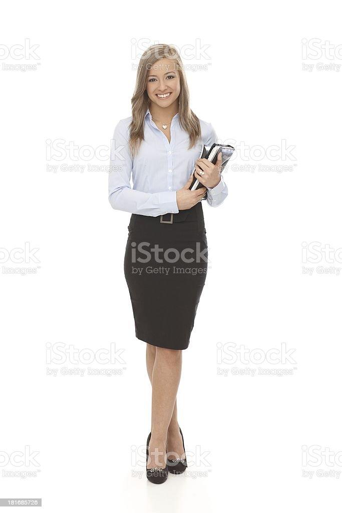 Schöne Sekretärin Volle Größe – Foto