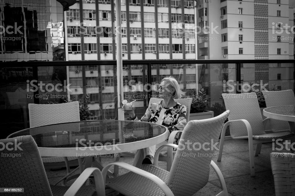 Pretty Senior Lady royalty-free stock photo