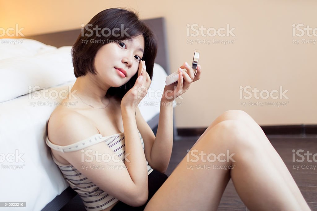 pretty sexy chinese girl royalty-free stock photo