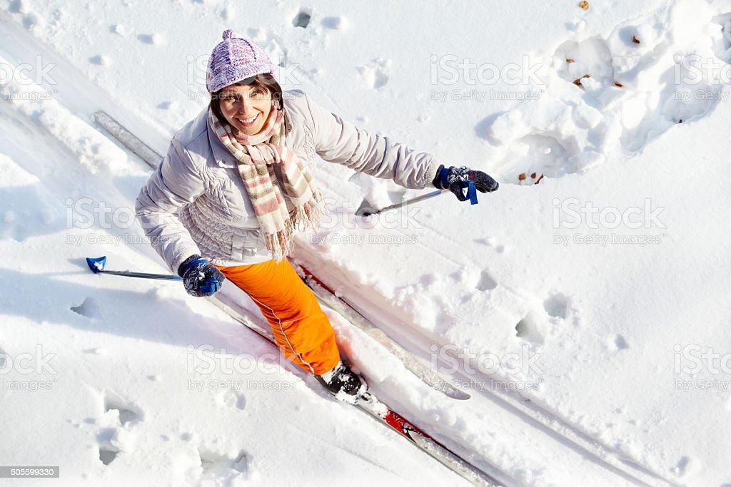 Hübsche Skifahrer – Foto