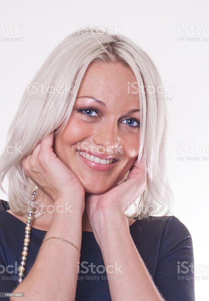 Pretty Smile royalty-free stock photo