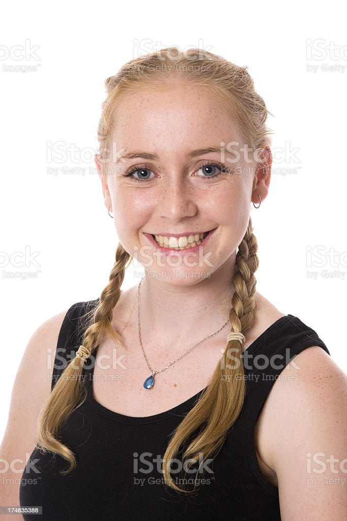 Pretty Teen Girl royalty-free stock photo