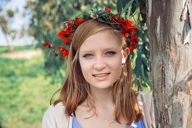 Schöne teen Mädchen – Foto