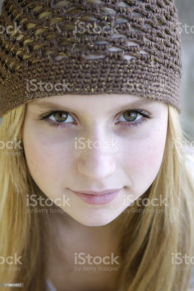 Pretty Teen Portrait royalty-free stock photo
