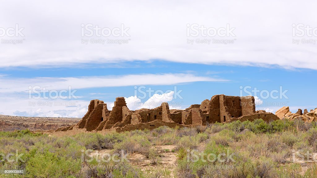Pueblo Bonito stock photo