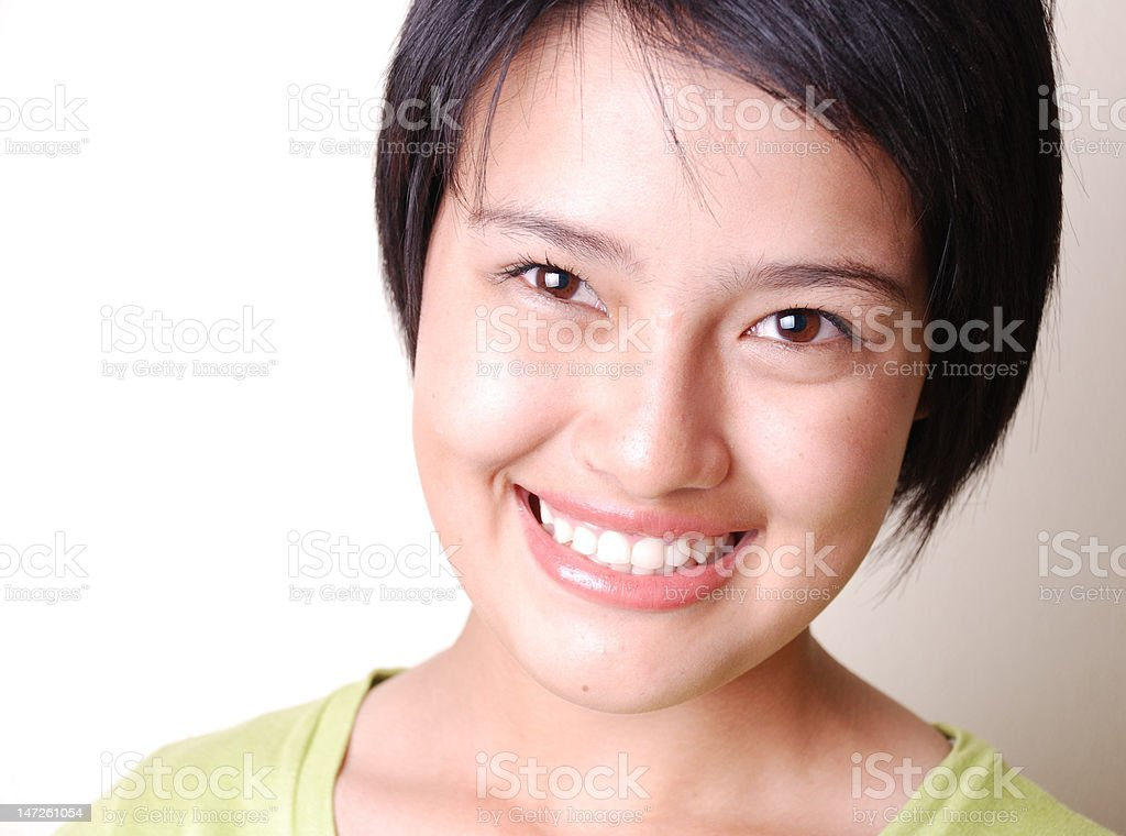 Pretty woman (series) royalty-free stock photo