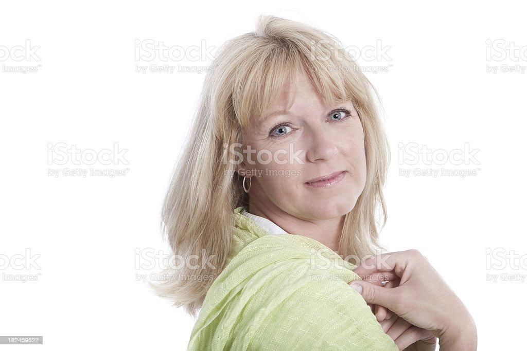 Pretty mujer foto de stock libre de derechos