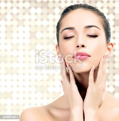 istock Pretty woman 459954617