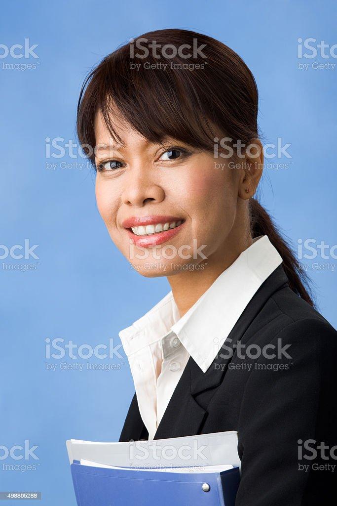 Hübsche Frau Lizenzfreies stock-foto