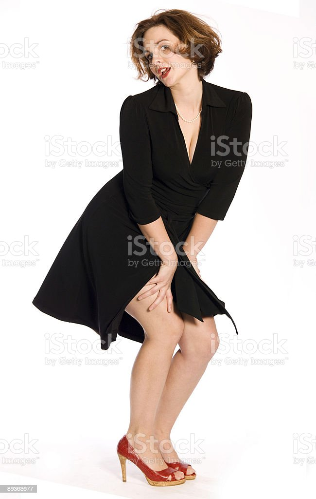 Pretty Woman stock photo