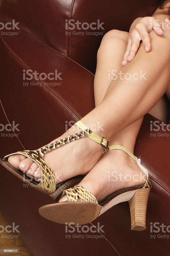 Pretty woman's legs - Royalty-free Adult Stock Photo