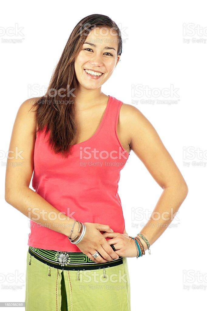 Pretty Yong Asian Woman stock photo