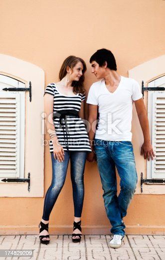 505067918 istock photo Pretty Young Couple 174829209